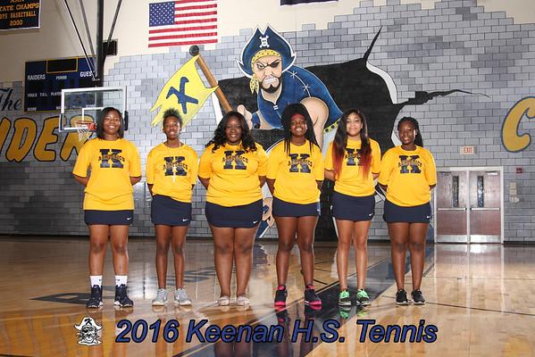 2016 Tennis girls