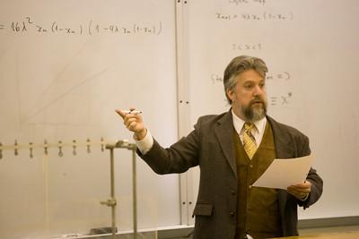 Physics Professor Keith Earle