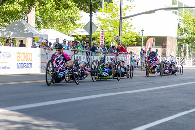 Handcycle Criterium, Boise Twilight Criterium, all Cats, July 13, 2019