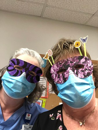 Coworker Week Mask Decorating Contest (May 2020)