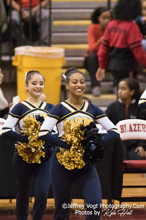 2/3/2018 Bethesda Chevy Chase HS at MCPS County Poms Championship Blair HS Division 2, Photos by Jeffrey Vogt Photography with Kyle Hall
