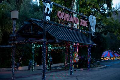 Oakland  Zoo Lights 2018