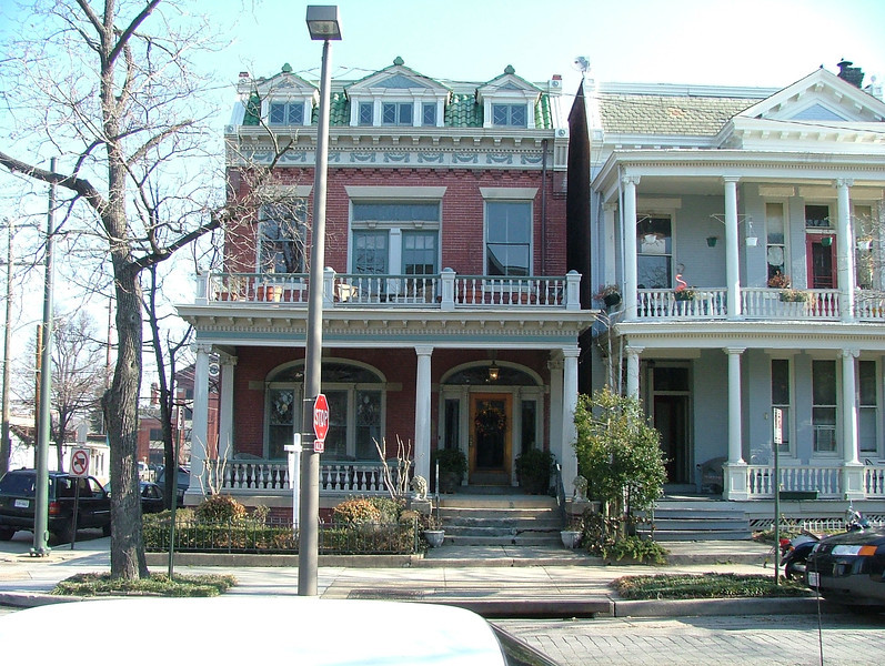 1848 Grace St. -- The old family home