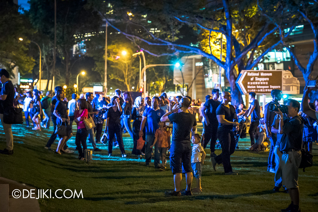 Night Festival 2016 - Visitors at National Museum lawn