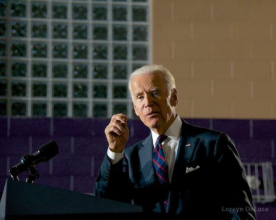 VP Biden in Charlotte