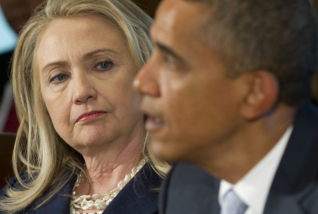 """. 3. (tie) HILLARY CLINTON & BARACK OBAMA <p>Looks like 2016 candidate has figured out her old boss is no longer �likeable enough.� (3) </p><p><b><a href=\""""http://online.wsj.com/articles/obama-expected-to-embrace-hillary-clinton-despite-her-criticism-1407974265\"""" target=\""""_blank\""""> LINK </a></b> </p><p>    (Saul Loeb/AFP/Getty Images)</p>"""