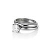 0.78ct Round Brilliant Diamond Bridal Set by Cartier 1