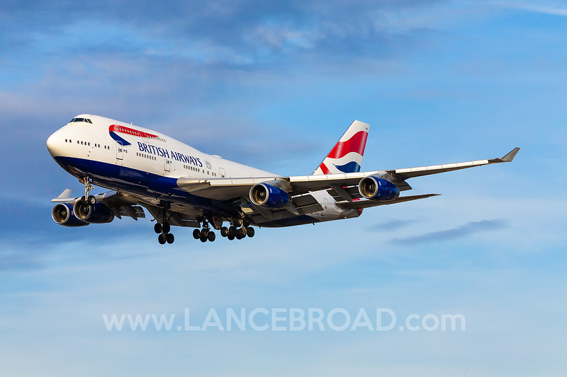 British Airways 747-400 - G-CIVS - SAN