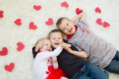 Duke Kids Valentine's Mini-Session