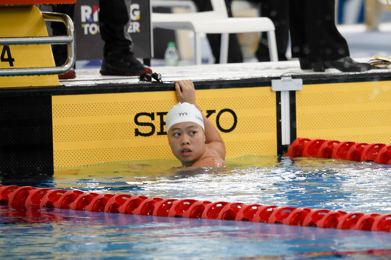 PARA SWIMMING - DANIELLE YAN TING MOI in action & representing Singapore in Women's 100 LC Meter Freestyle S14 Finals (Gold) at Aquatics Centre, KL on September 19th, 2017 (Photo by Sanketa Anand)