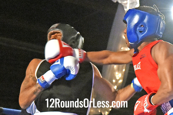 Bout #9 Sequan Felton, St. Martin BC, Rochester, NY -vs- Ryzeemion Ford, Lorenzo Scott Boxing, Alliance, Box Off, 132 lbs