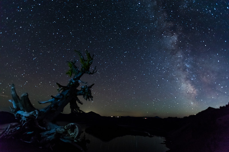Milky Way, Crater Lake, OR