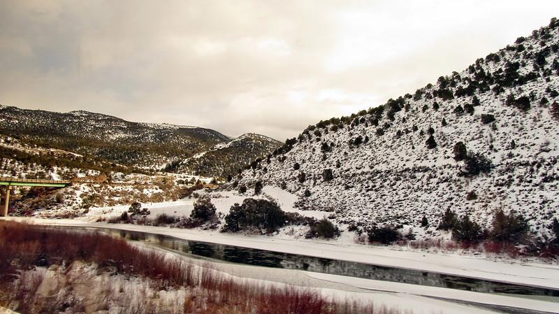 Amtrak's California Zephyr - Colorado to Utah - January 14, 2016