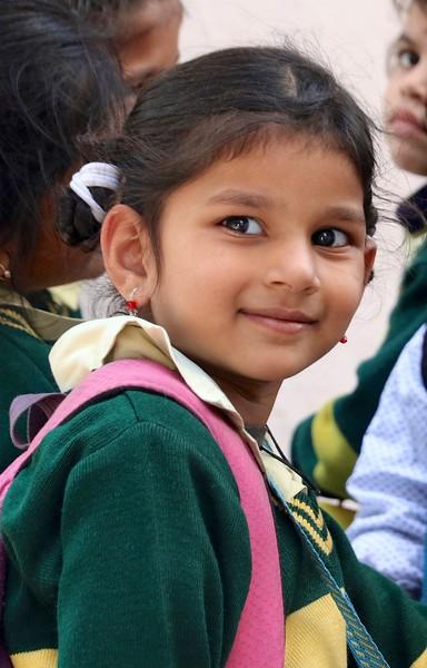 Beautiful schoolgirl