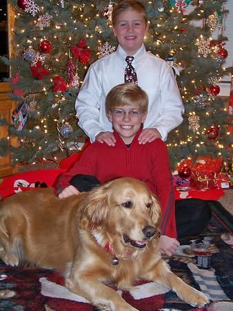 Boys & Abby Christmas 2008
