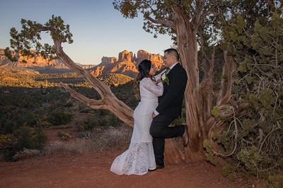 Charmaine  & Christopher's Sedona Wedding