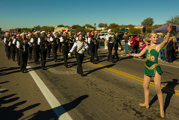 2013-14 CDO Marching Band