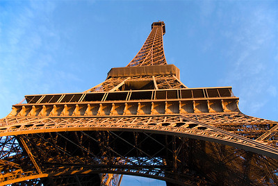 Eiffel Tower, Paris France - Copyright © 2009 NSL Photography