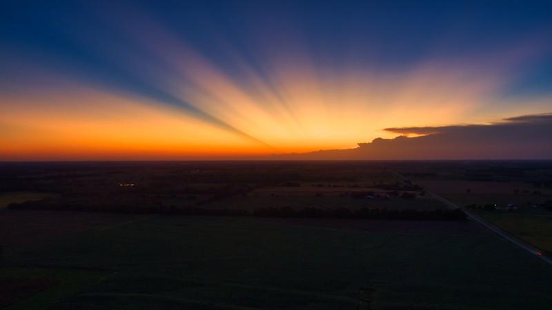 20191002 SW Missouri Sunset