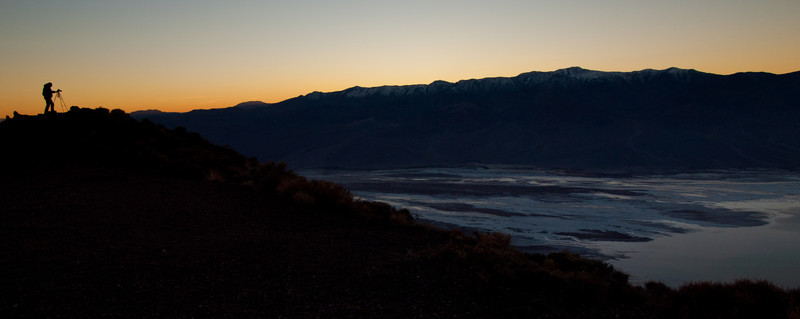 From Dante's View looking down on Badwater