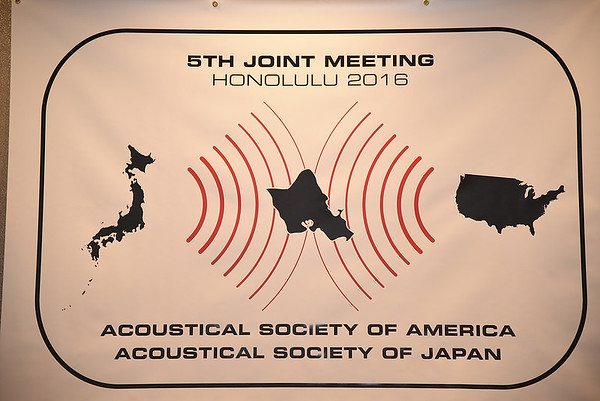 Acoustical Society 5th Joint Meeting Honolulu 2016
