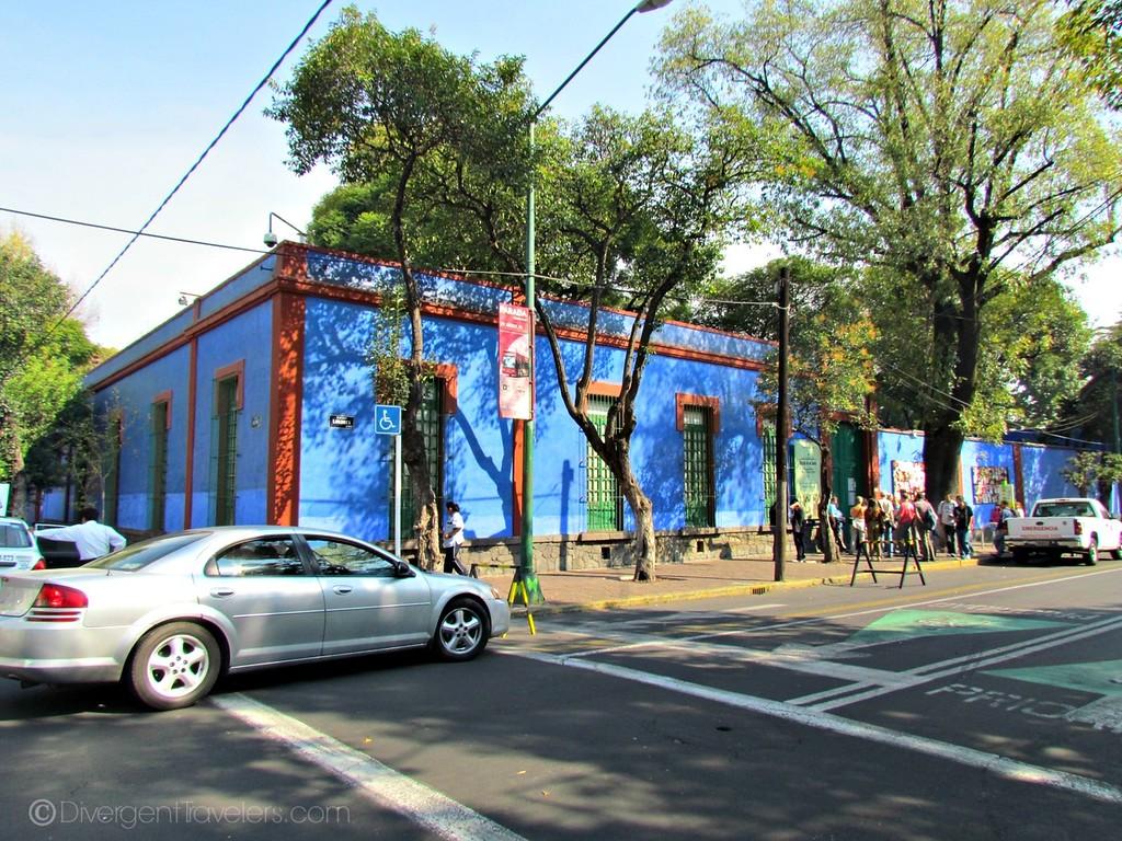 Casa Azul in Mexico City