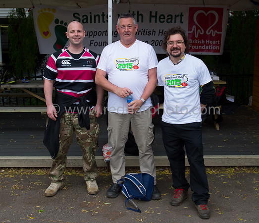Saints with Heart, 9 May 2015