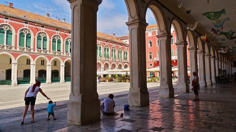 Split Croatia - Republic Square