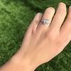 2.03ct Emerald Cut Diamond Ring, GIA K IF 6