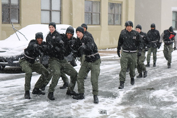 A Snowy Exam Day
