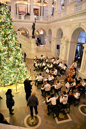 Symphonic Strings Orchestra Performs at the Library of Congress