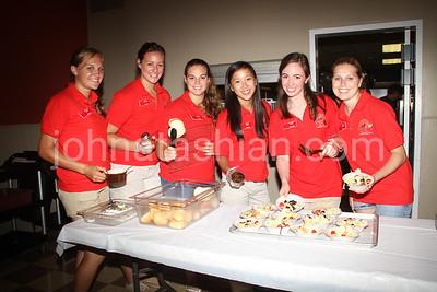 Apple Harvest Hostesses Volunteering at the Elks Club -  August 3, 2011