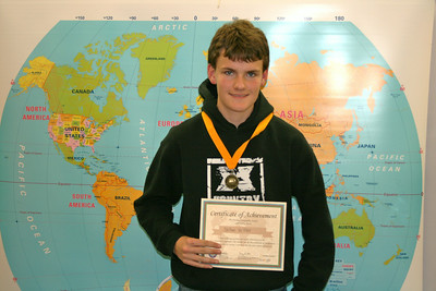 Geography Bee Winner