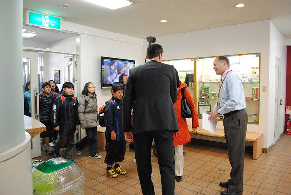 2012 - NHK Visit