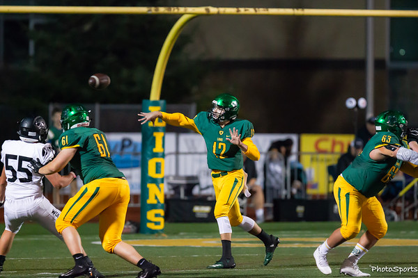 West Linn Varsity vs. Tualatin October 12, 2018
