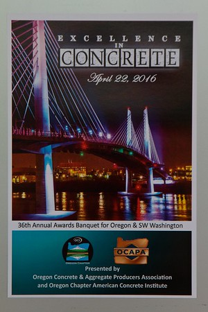 OCAPA Excellence in Concrete 2016