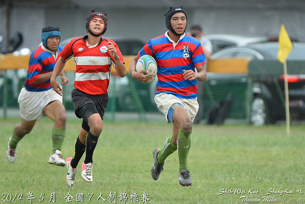 2014年全國7人制錦標賽(Taiwan Rugby Championship 7s)