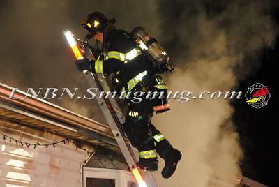 West Babylon F.D. House Fire 206 16th Street 10-24-15