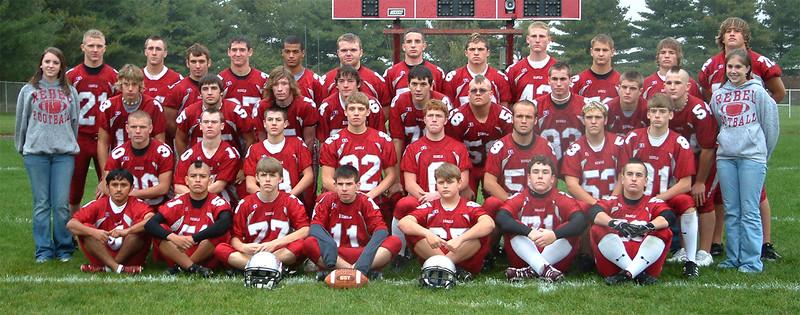 SNHS Football Team 2005