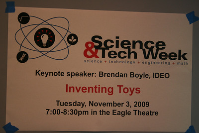 Science and tech 2009, first day