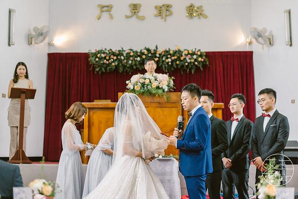 桃園彭園教堂婚禮