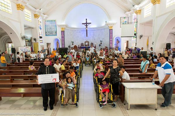 Distribution at St Joseph Cathedral (San Jose)