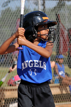 May 22, 2012 - Angels vs. Panthers Girls Softball