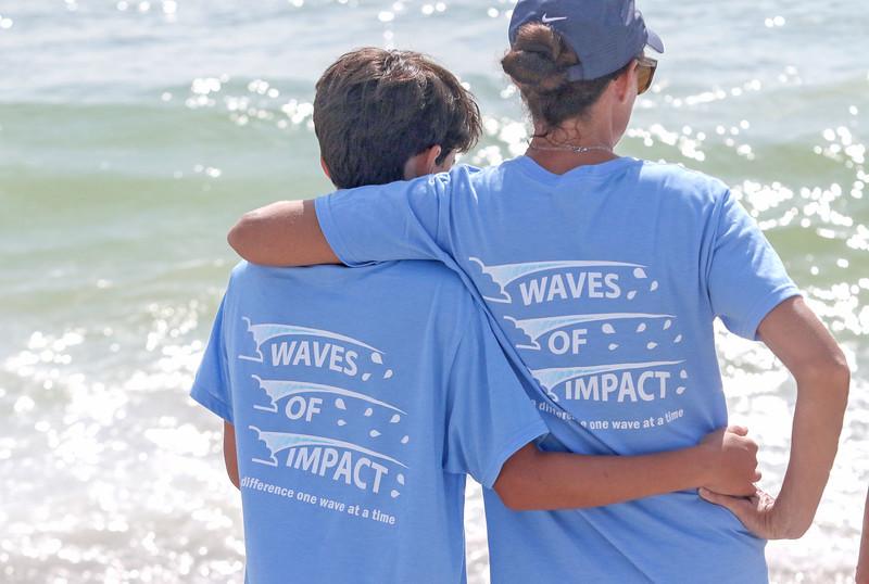 Waves of Impact day 1 in Lavallette, NJ on 8/1/19.[DANIELLA HEMINGHAUS]