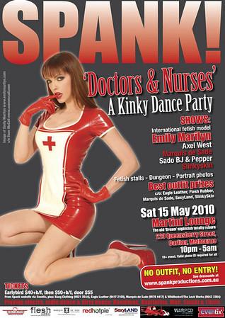 Melbourne Spank Fetish Ball - May 2010