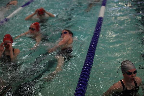Worthington Swim Meet 2-18-12