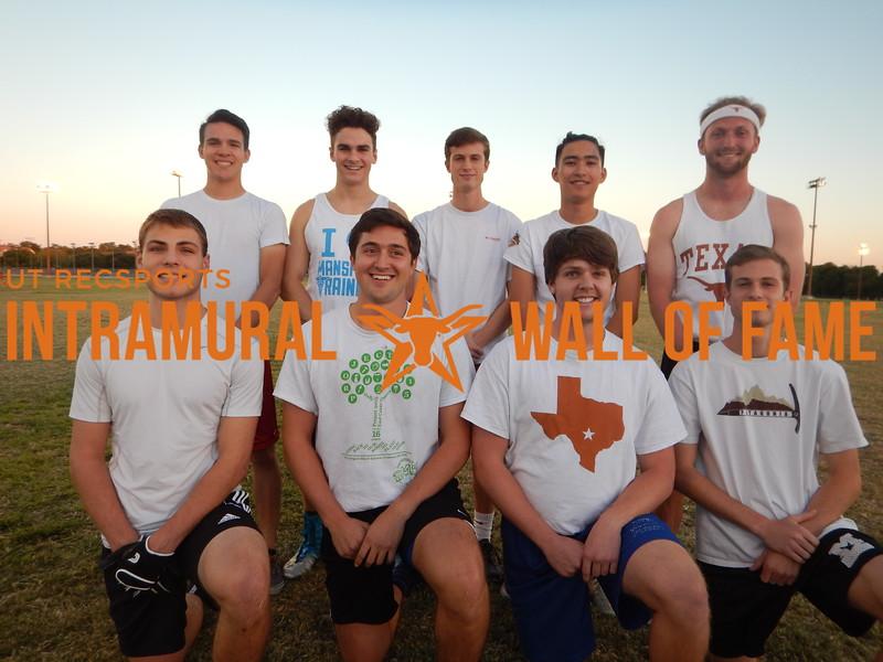 Fall 2015 Flag Football Orange B Runner Up Tallywackers