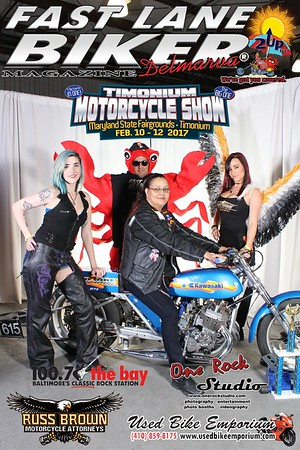 2017-02-11 Timonium Motorcycle Show - FLBD Xtreme Foto Booth by One Rock Studio