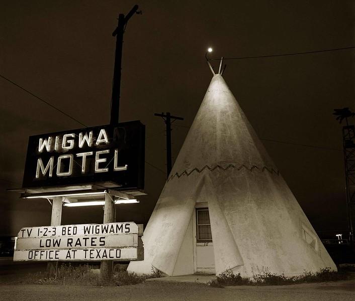 "Steve Fitch, ""Wigwam Motel"" (1973)"