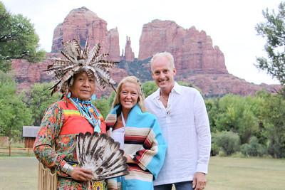 Madelene and Christopher's Native Ceremony